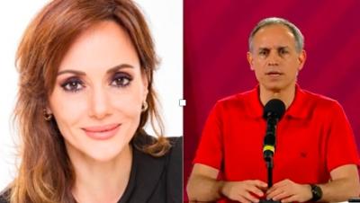 """Lilly Téllez recuerda a López-Gatell él no es víctima... """"las víctimas son las familias de los fallecidos""""..."""