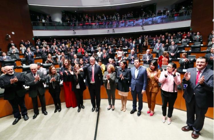 Ratifican a Marcelo Ebrard como secretario de Relaciones Exteriores