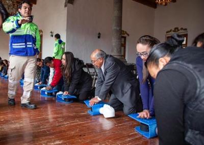 Capacitan a Ayuntamiento de Zacatlán en uso de  Desfibrilador Externo Automático