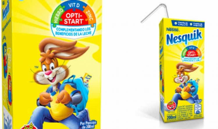 Nestlé dejará de utilizar popotes en sus envases