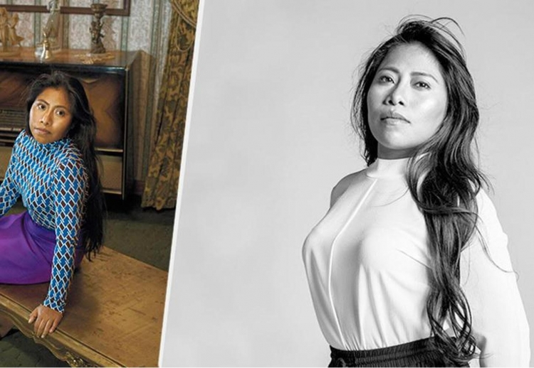Yalitza, mujer mexicana que ha sido duramente criticada por su aspecto físico