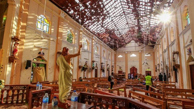 Sube a 359 cifra de muertos por los atentados en Sri Lanka