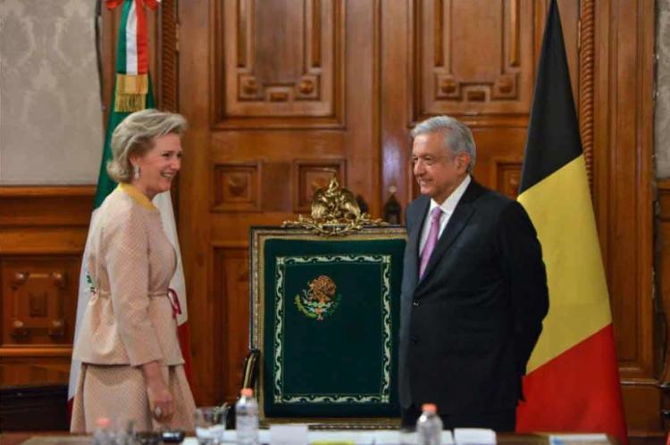 Delegación económica de Bélgica arriba a México; Princesa Astrid encabeza la visita
