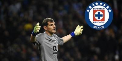 Iker Casillas revela que Cruz Azul es su equipo favorito en México
