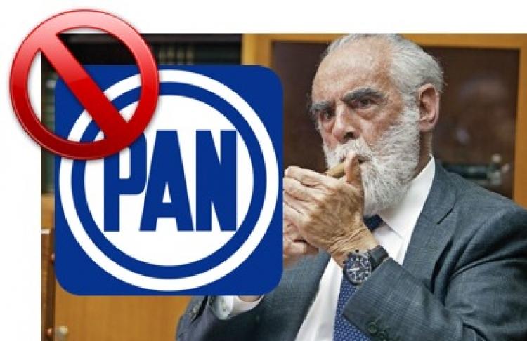 """""""El Jefe"""" rechaza posibilidad de dirigir el PAN"""