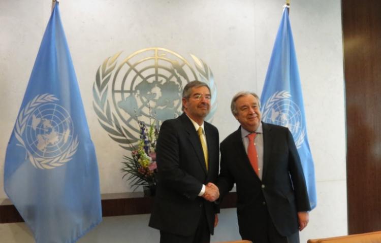 México tiene nuevo representante permanente ante la ONU, hoy entrego las cartas credenciales