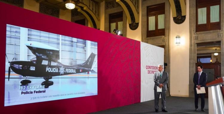 Gobierno Federal pone a la venta aeronaves en FAMEX 2019
