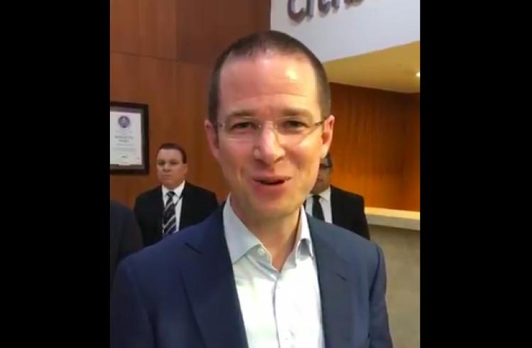 Ricardo Anaya participa en Candidatos MX Visión 1824