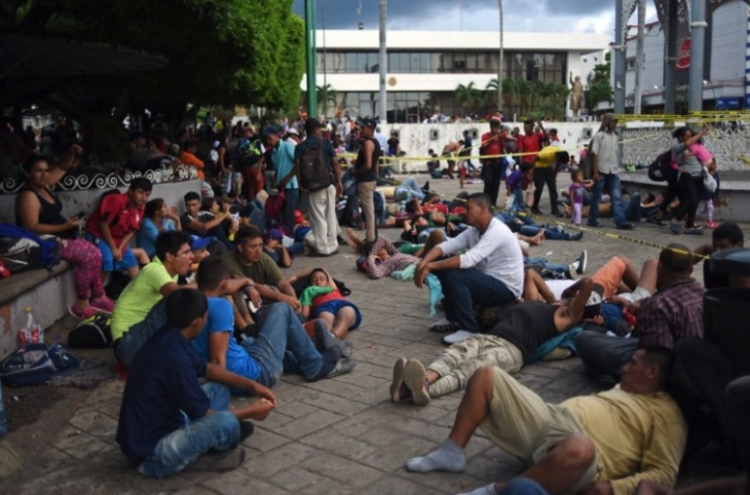 Migrantes podrian acceder a servicios educativos en su estancia en el país