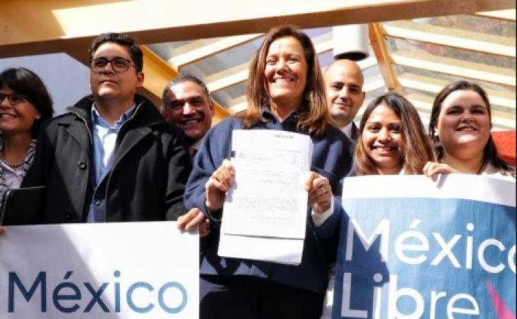 Acepta INE solicitud de Margarita Zavala para crear su partido político
