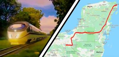 Empresas de Canadá, Francia y España interesadas en invertir en Tren Maya.