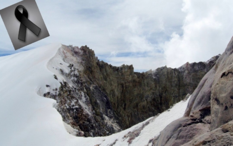 Encuentran muertos a dos alpinistas en el Pico de Orizaba