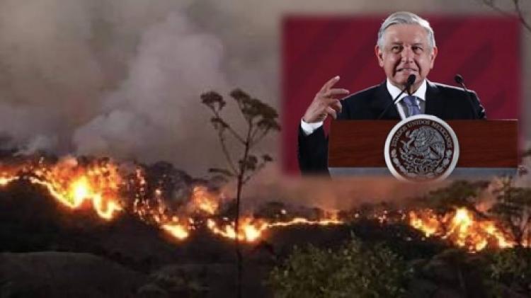Tras recorte presupuestal de AMLO no hay dinero para combatir incendios