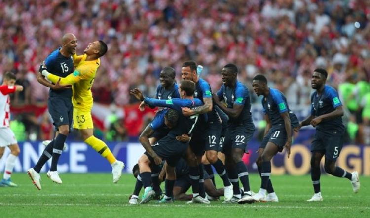 Francia se corona como campeón del mundo en Rusia 2018