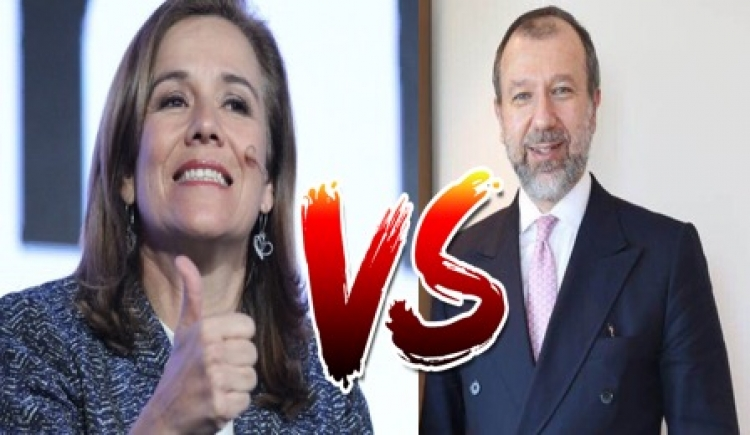 Jorge Guajardo reta en Twitter a Margarita Zavala