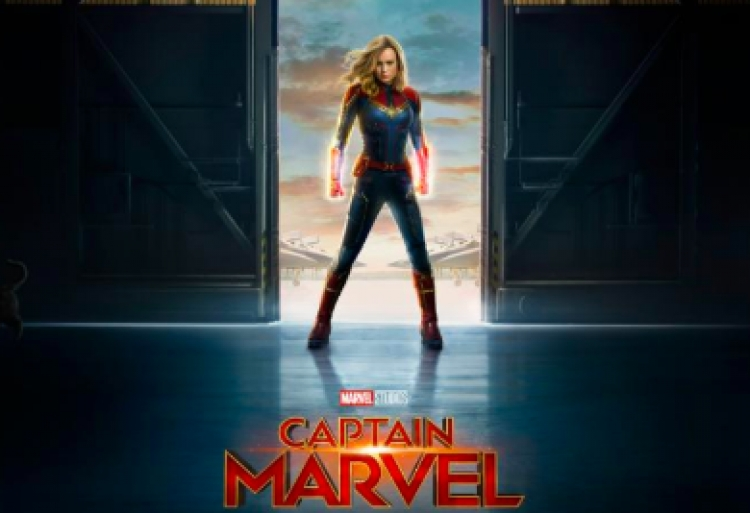 Marvel da a conocer tráiler y póster de 'Captain Marvel'.