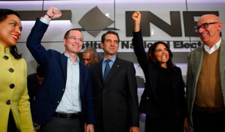 """Coalición Por México al Frente pide a candidato de Morena """"dejar de estorbar"""""""