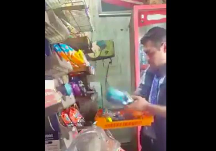 BIMBO da de baja a repartidor que robó producto a un anciano