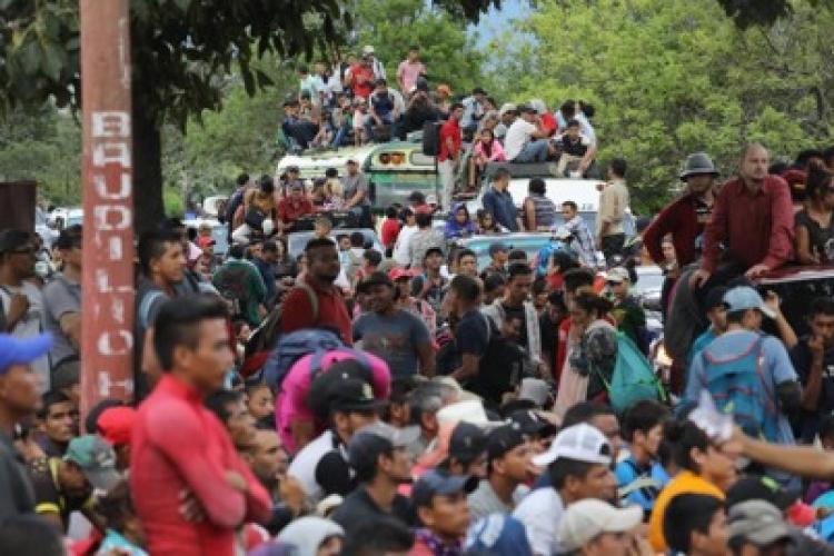 El gobierno y las medidas que tendrá ante el paso de la carava de migrantes hondureños en el sur del país