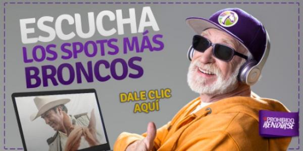 """Jaime Rodríguez """"El Bronco"""" opta por spots descargables"""