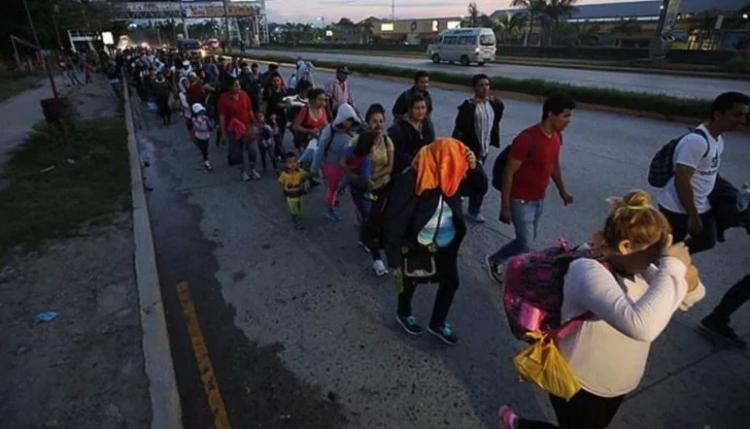 """CNDH solicita apoyo para protección de la """"Caminata del Migrante"""""""