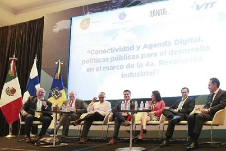México y Finlandia buscan cooperación internacional en tecnologías de vanguardia.