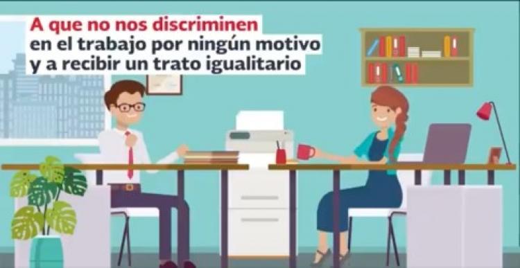 Lanzan campaña para fomentar espacios de trabajo libres e inclusivos