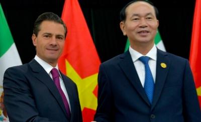 Peña Nieto lamenta fallecimiento del Presidente de Vietnam