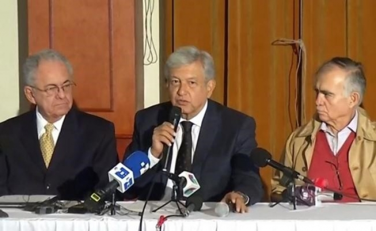 López Obrador pone a consulta dos opciones sobre el NAIM teniendo en cuenta sobrecosto.