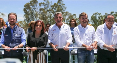 Inauguran el parque de Amalucan