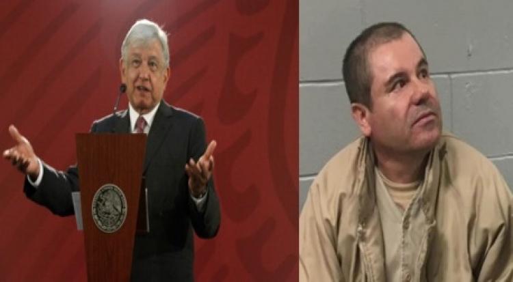 """López Obrador apoyará a familia de """"El Chapo"""" para conseguir """"Visas Humanitarias"""""""