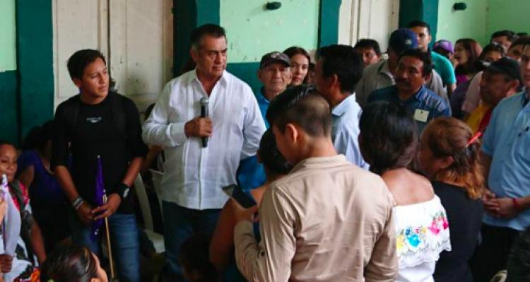 """""""El Bronco"""" visita comunidad Kanxoc en Yucatán"""