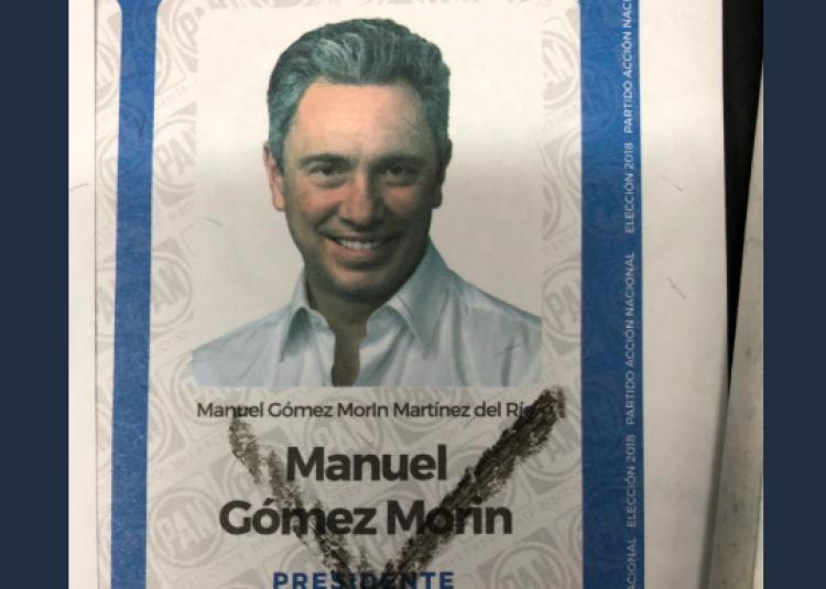 Manuel Gómez Morin tacha de antidemocrática elección interna del PAN