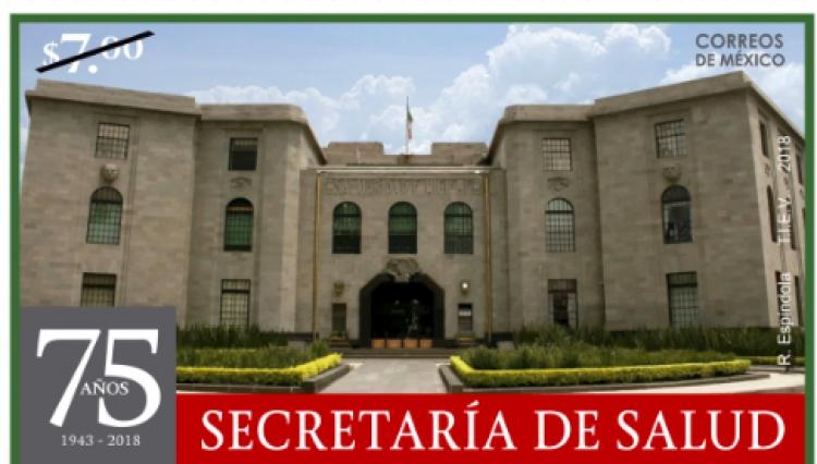México conmemora el 75 Aniversario de la Secretaría de Salud