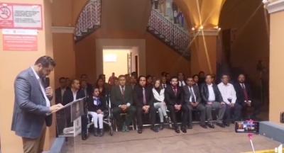 Felipe Patjane presenta gabinete para Administración de Tehuacán 2018-2021