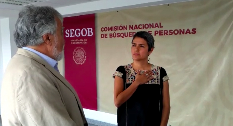 Toma protesta titular de CNB, Karla Quintana Osuna