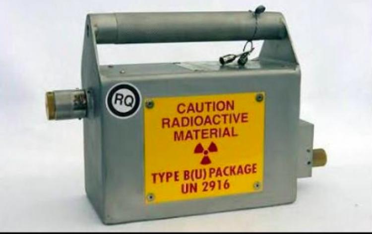 Encuentran fuente radiactiva robada