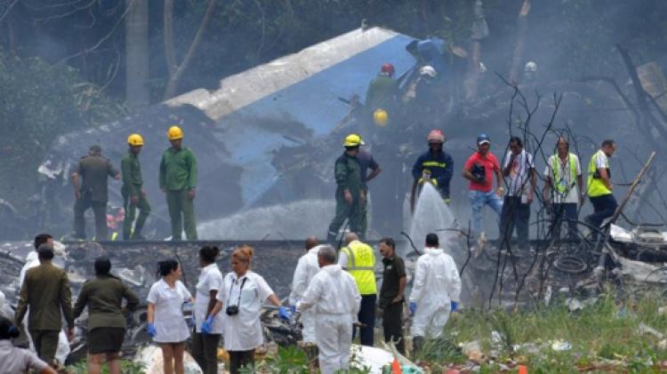 Localizan segunda caja negra de avión accidentado en Cuba