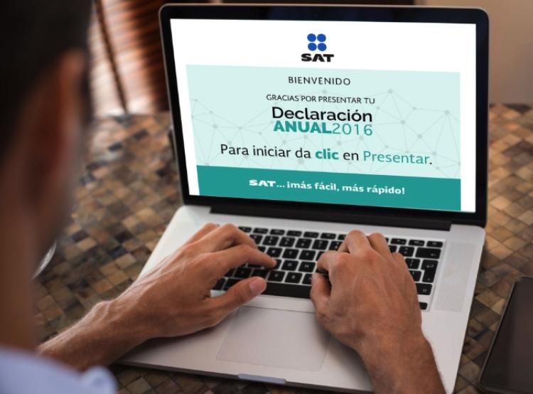 Publica SAT simulador de declaración anual en su portal.