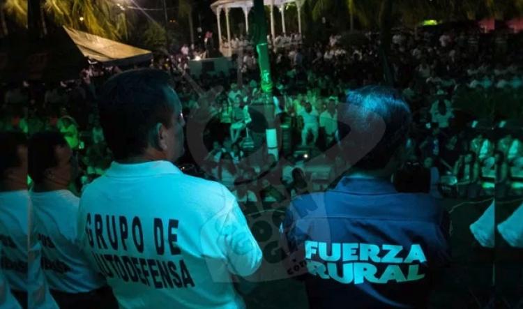 Inicia liberación de ex autodefensas de Michoacán.