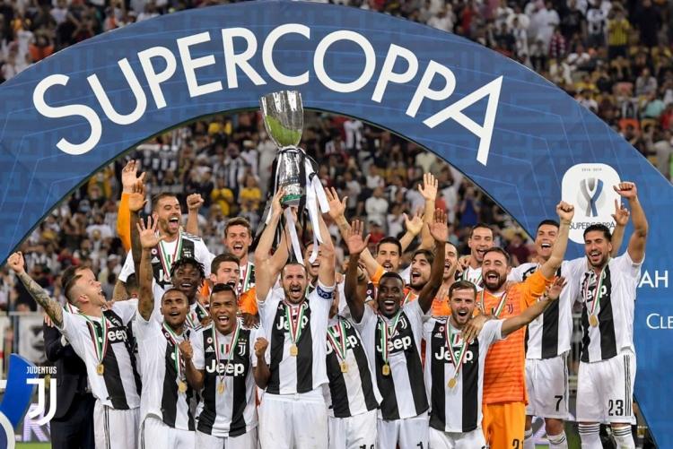 Cristiano Ronaldo le da a la Juve la Supercopa de Italia