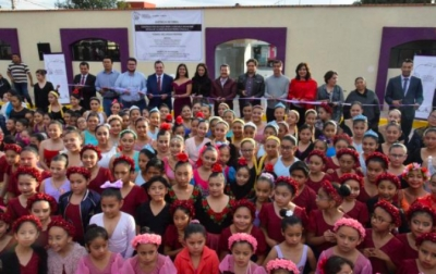 Inauguran la escuela municipal de ballet en San Pedro Cholula