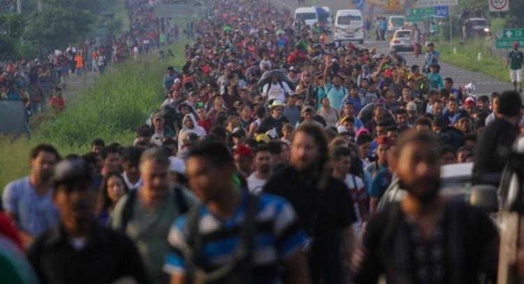 Embajada de Honduras en México asegura que segunda Caravana Migrante no son integrantes Mara Salvatrucha