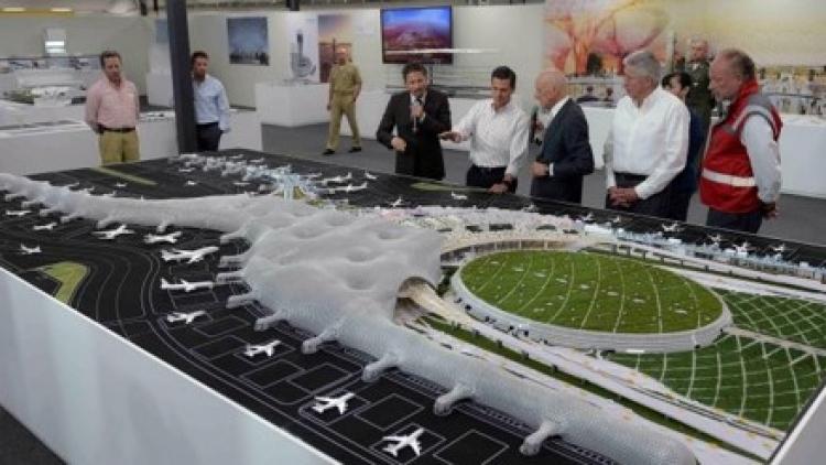 CCE defiende la construcción del NAIM