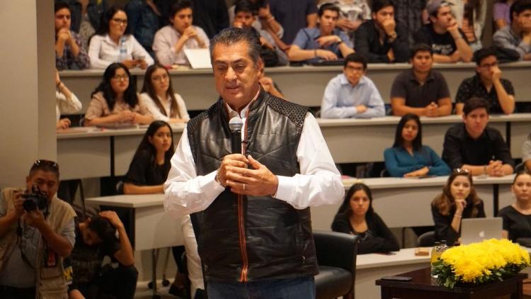 Jaime Rodríguez Calderón realiza diálogo con Universidad CETYS