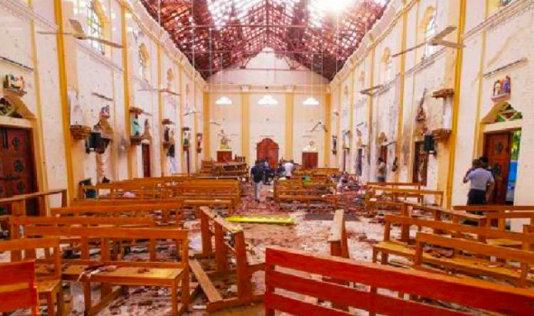 Sube a 290 cifra de muertos tras atentados en Sri Lanka