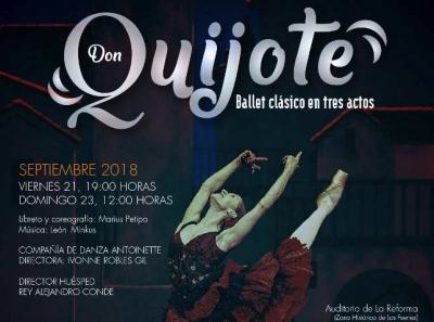 """Presenta la Filarmónica 5 de Mayo, el ballet clásico """"Don Quijote"""""""