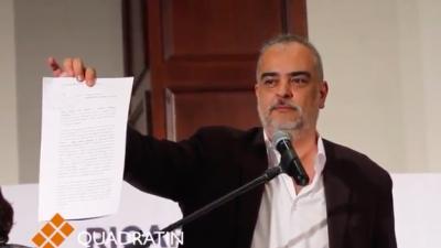 Por México al Frente realiza denuncia penal en contra de Meade y EPN
