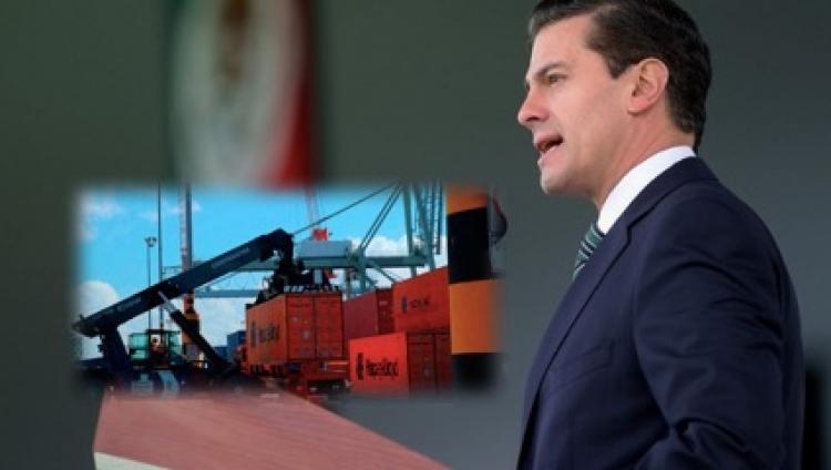 EPN aprueba convenio sobre regímenes aduaneros