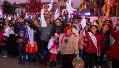 Zacatlán inicia festividades decembrinas